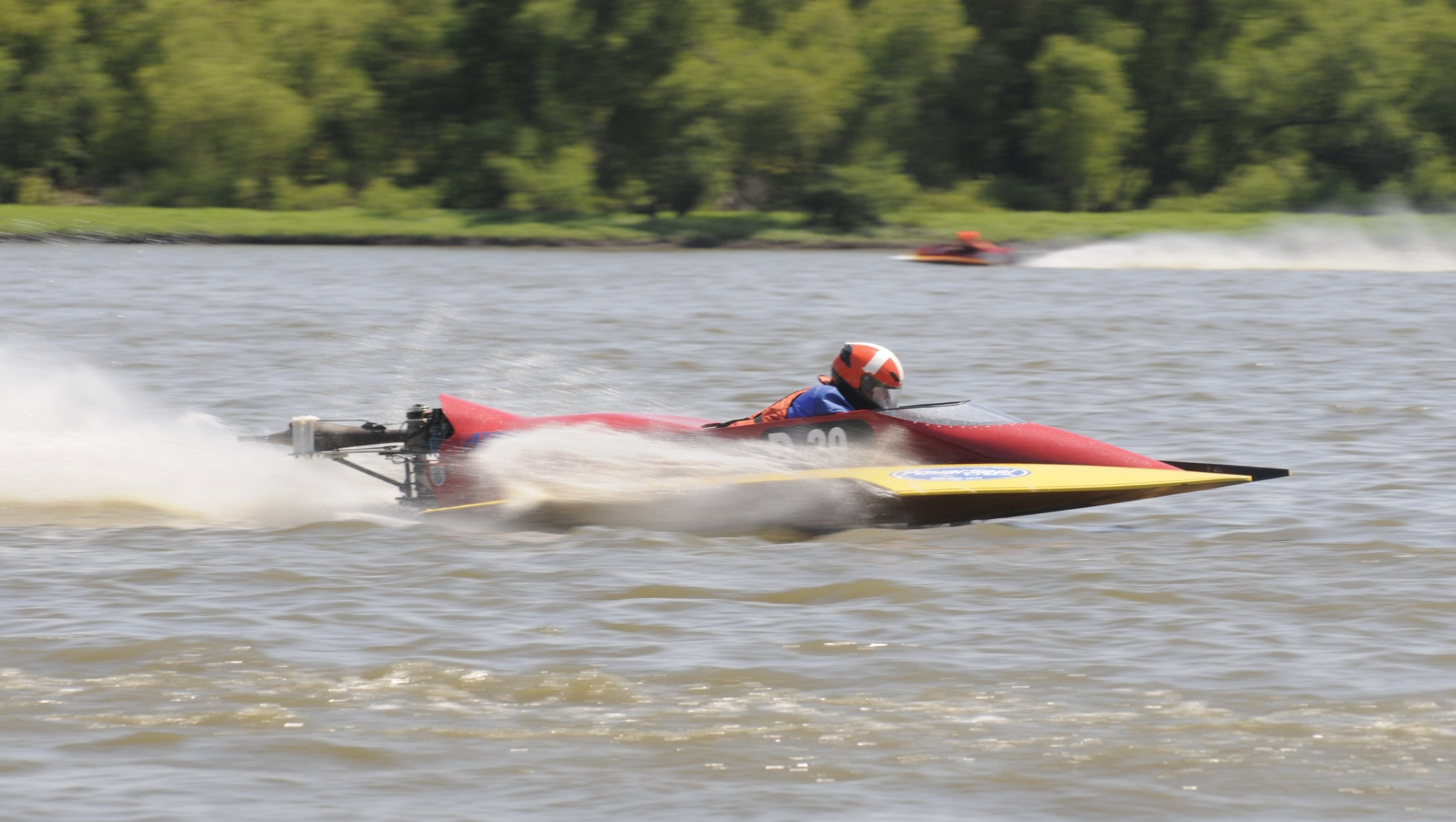 125cc Outboard Racing