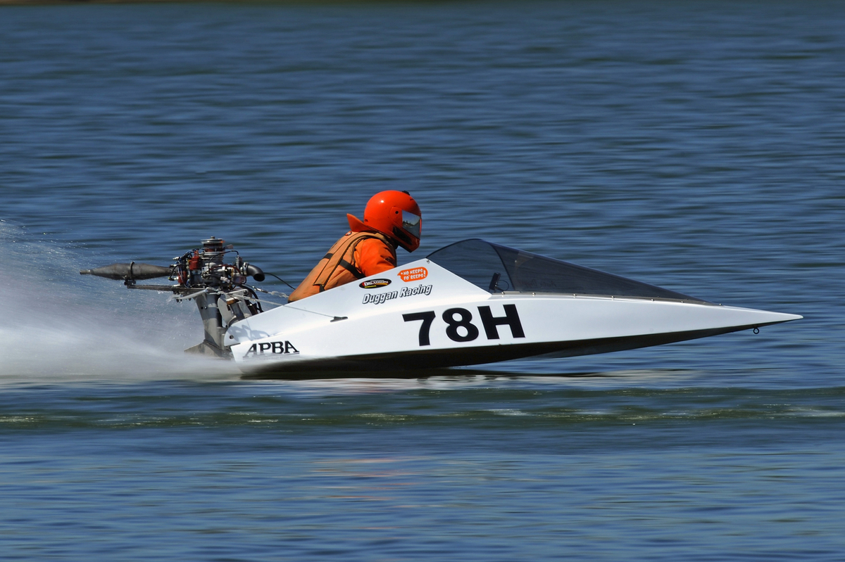 Modified Outboard Powerboat Racing