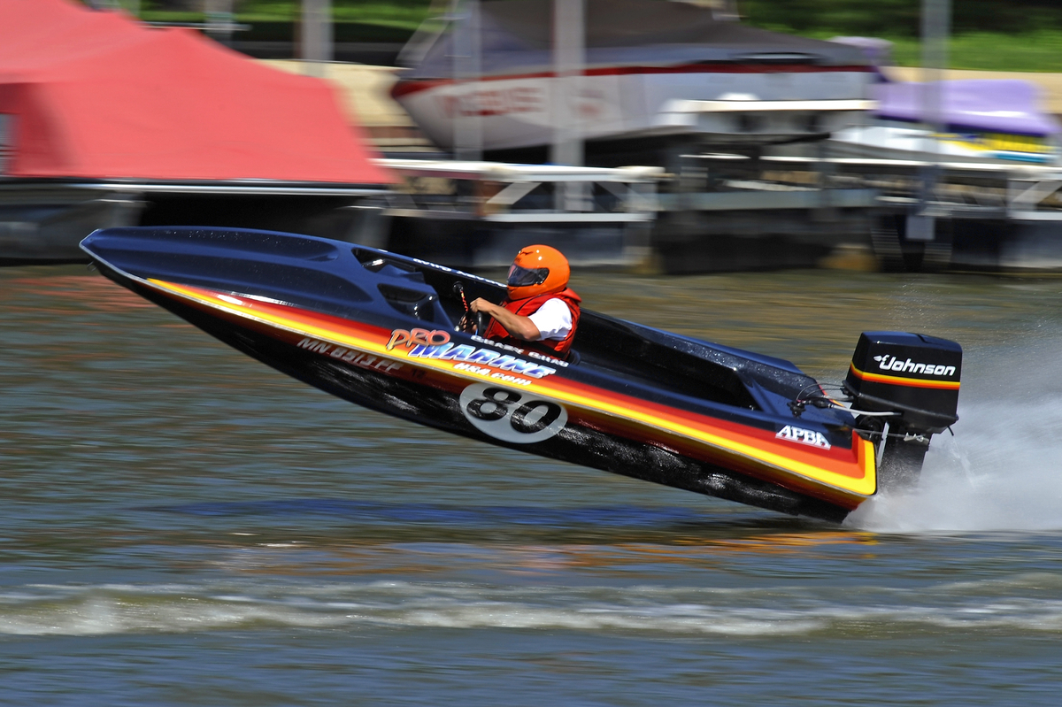 Outboard Boat Racing