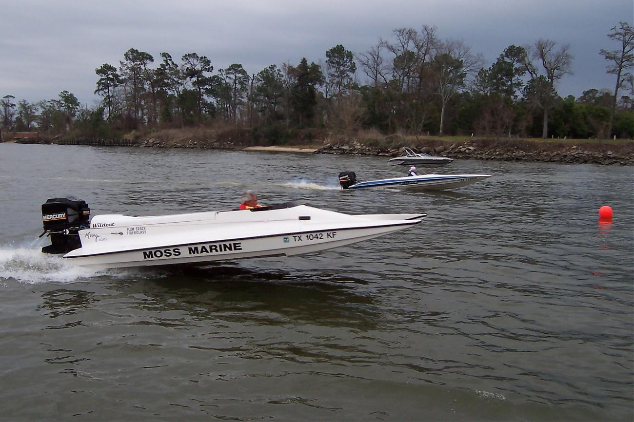 Outboard Drag Racing