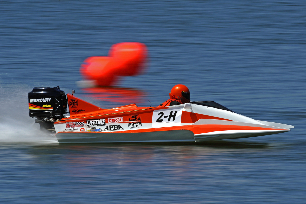 D Stock Hydroplane Racing